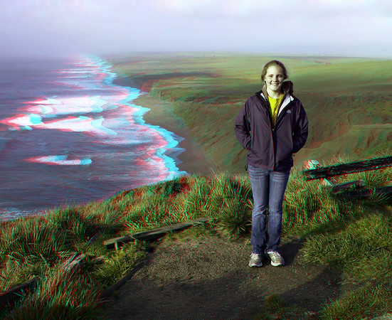 Pt. Reyes - 3D Anaglyph (glasses required!)