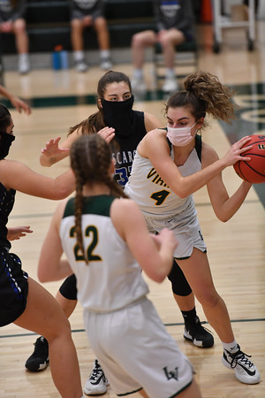 2021.02.05 Girls Basketball: Dulles District Championship, Tuscarora @ Loudoun Valley