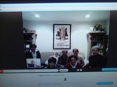 Skype Book Club Visits