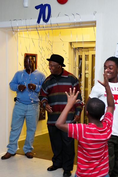 Reverend Coffield Celebrates 70 years