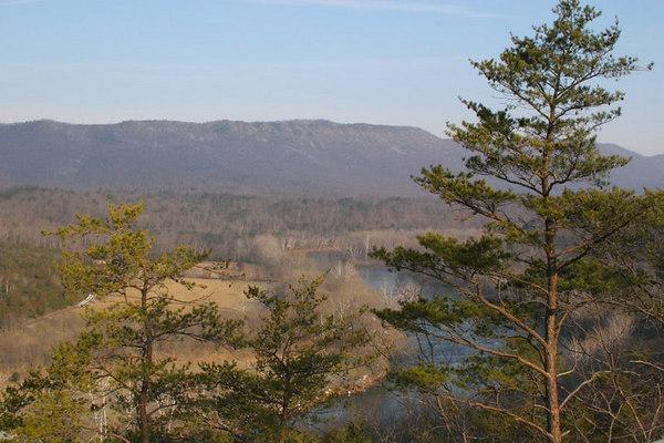 Shenandoah Mountains and Luray Caverns