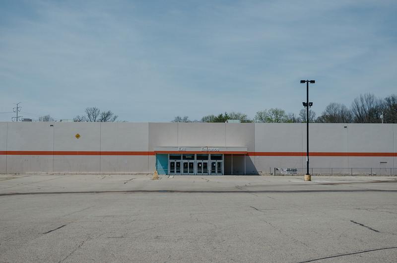 Abandoned store, Ridge Road, Cincinnati.