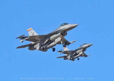 Arizona ANG F-16s