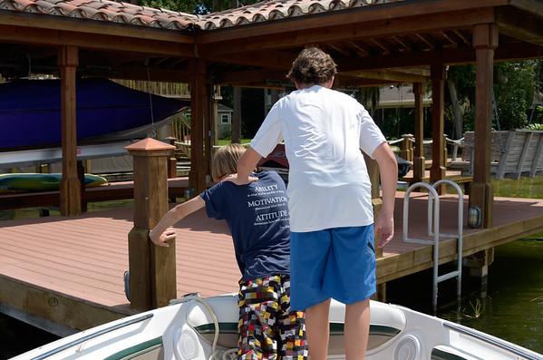 Bear Lake Boating 9/25/11