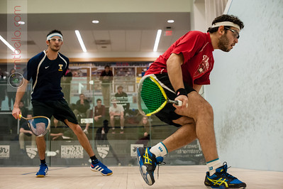 2014-02-28 Karan Malik (Trinity) and Moustafa Bayoumy (St. Lawrence)