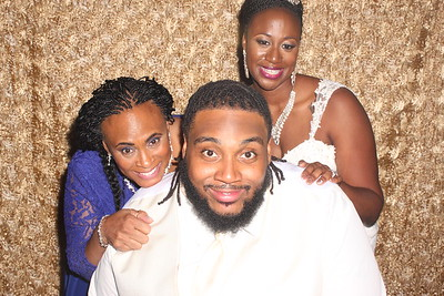 Candice and Marvin's Wedding Photobooth Pictures