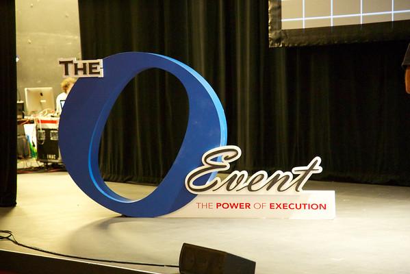 The O Event set up