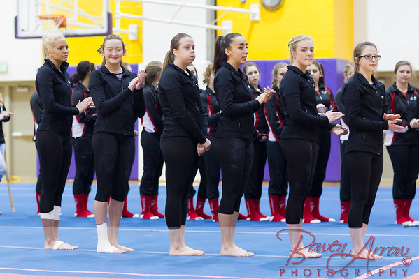 Gymnastics vs Coldwater 2016-02-22