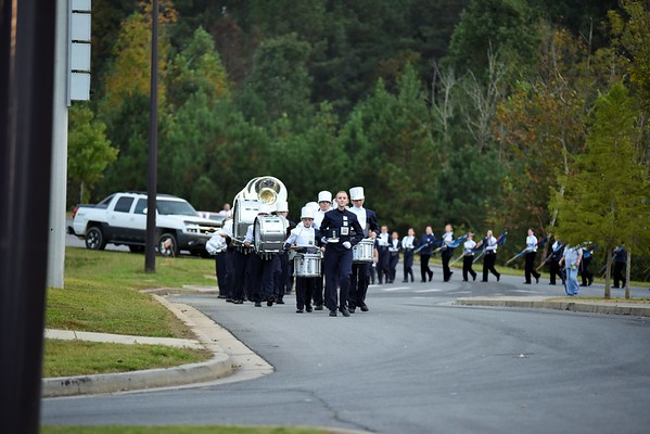 Band vs G Central Game 10-9-15