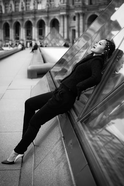 Ailine, Un Jour de Novembre 2017, au Palais Royal