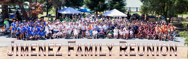 Jimenez Family Reunion 2014