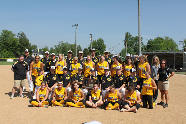 2011 SOFTBALL GOREVILLE LADY BLACKCATS 2010-2011 SECTIONAL CHAMPIONS