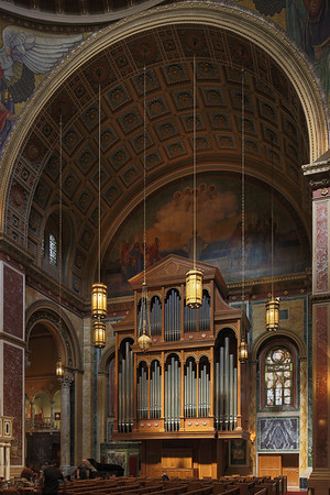 The Great Organ at Cathderal of St Matthew the Apostle