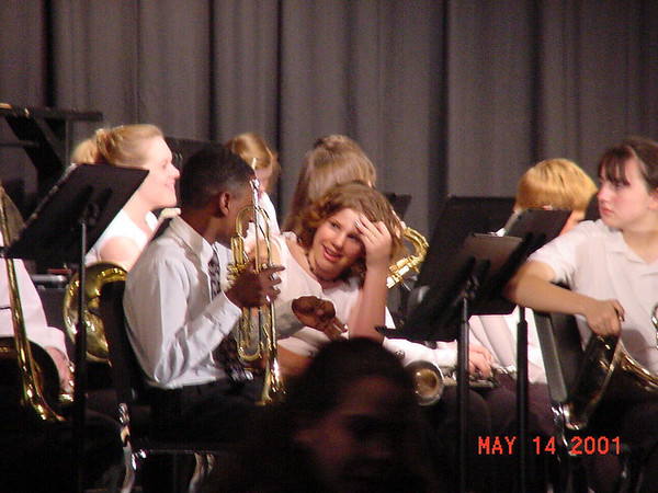 2001-05-14 Spring Concert Band Performance