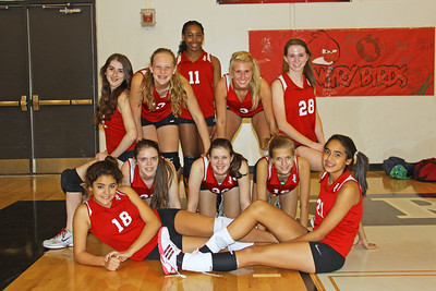 2011 8th Volleyball vs. Cross Timbers (10/31)