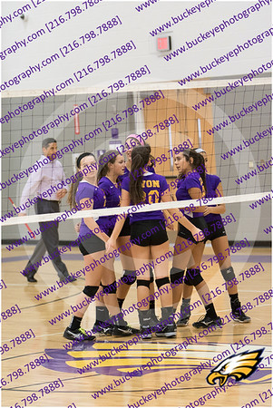 20150930 - Avon Eagles Girls AMS Purple Volleyball vs Lee Burneson Middle School Westlake