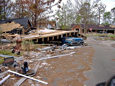 Hurricane Katrina Damage October 2005