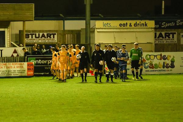 Nuneaton Youth 4 - 1 Tividale League Cup Feb 2014