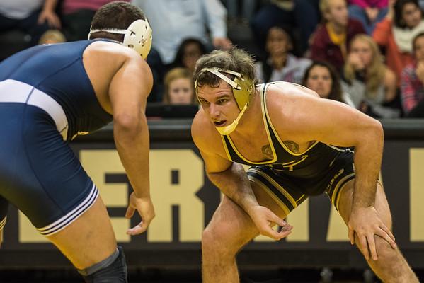 Purdue Wrestling vs Penn State 2016-1-8