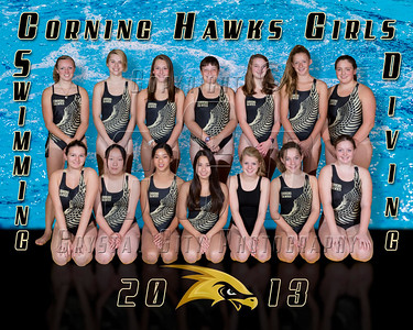 Corning Hawks Team Photo