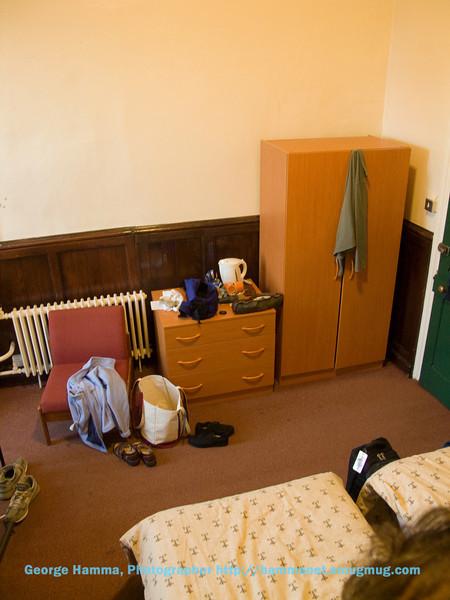 Durham Castle student room