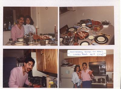 4-2 to 9-1988 Kam Anniversary, Fae Minabe visit