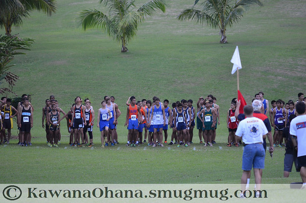 OIA Boys Cross Country Championships 2012