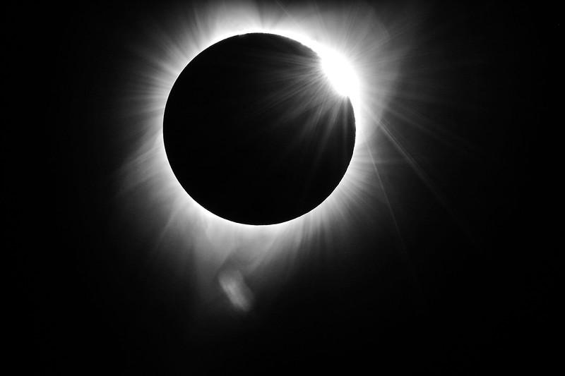 Solar Eclipse August 21 2017 Prairie City Oregon
