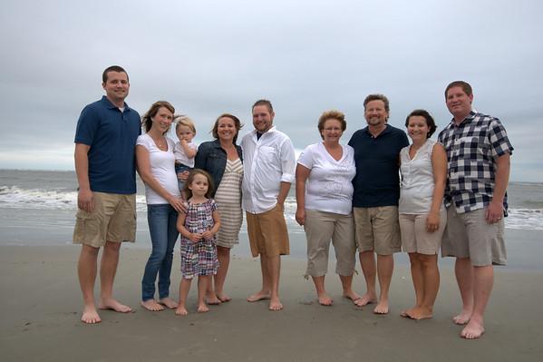 Holden Beach Family Photographers 9-19