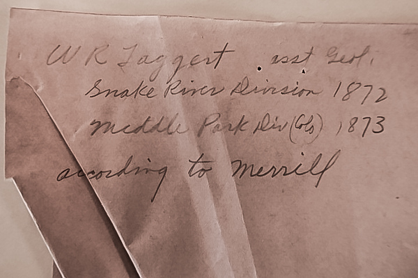 Letters from U of Wyoming collection