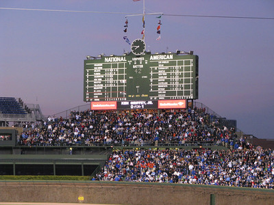 Wrigley Field, April 2008