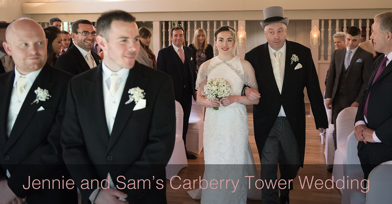 Jennie & Sam's Carberry Tower Wedding