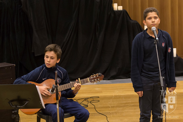 Middle School Cultural Fall Assembly