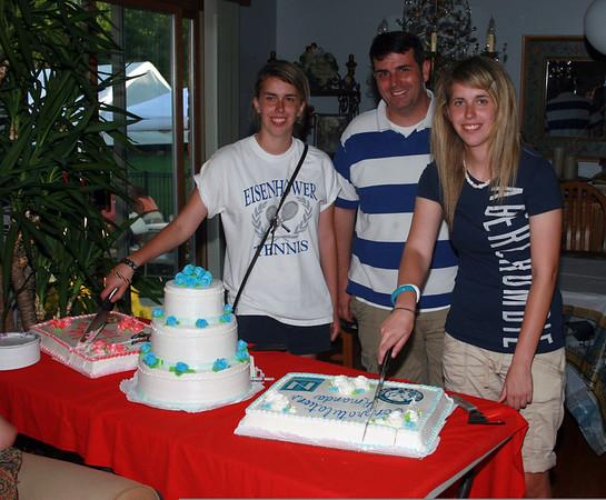 Amanda and Megan High School Graduation party