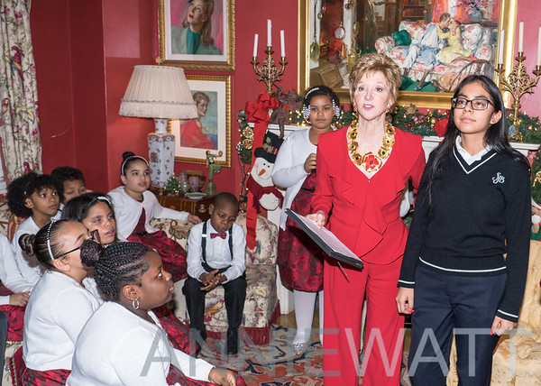 Dec. 12, 2019 Jacqueline Weld Drake hosts Holiday Party