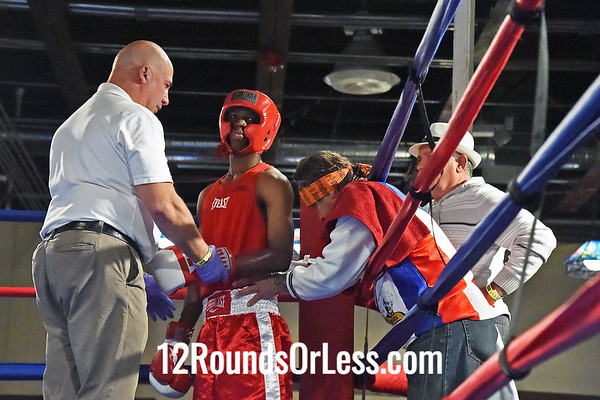 Bout #2  Saul Cano, Torres BC, Chicago, IL  vs  Ahmed Abdi, St. Martin BC, Rochester NY  114 Lbs.