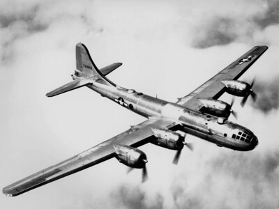B29, yeap the one that drop the first atomic bomb