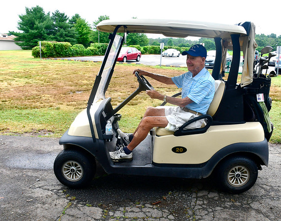 7/18/2019 Mike Orazzi | Staff Bristol resident Donald Bird, who turned 98 this July, still golfs three times a week at Westwoods Golf Course in Farmington.