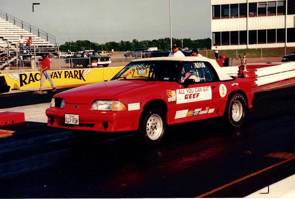 BRACKET RACING AT HOUSTON RACEWAY PARK 1994