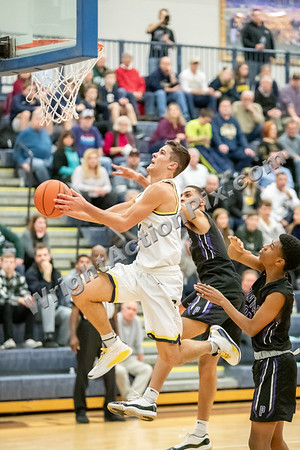 2020 01 02 Clarkston Varsity Basketball vs Pontiac