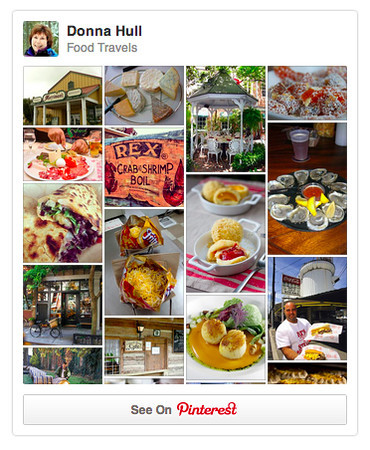 Pinterest Food Travels board for My Itchy Travel Feet