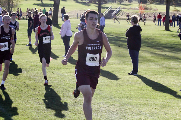 Western Christian Class 2A state cross-country 2018