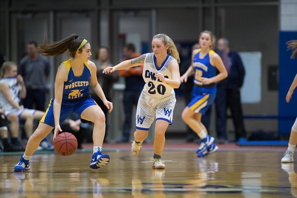 Women's Basketball Vs Worcester, Feb. 27, 2020
