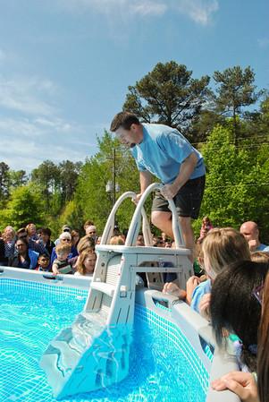 Tailgate Baptism - 4-21-13