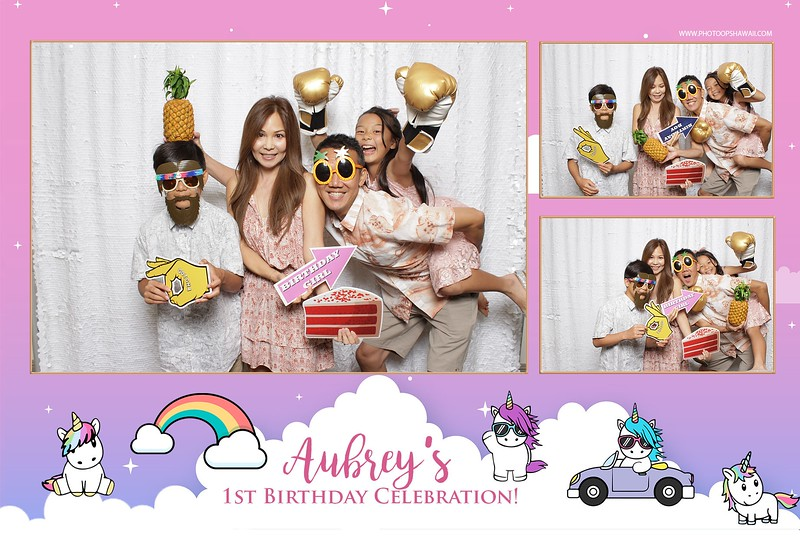 Aubrey's 1st Birthday (Fusion Photo Booth)