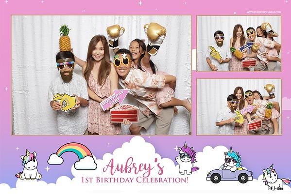 Aubrey's 1st Birthday (Fusion Photo Booth)