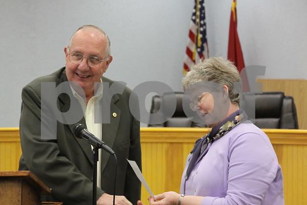 Erwin Kiwanis Club Honors Teachers of the Year - May 2011