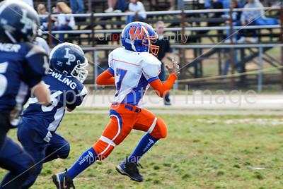 Westlake Bulldogs vs Laplata 70lbs 11-15-08