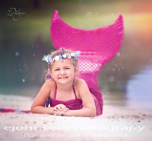 Alyssa Mermaid Shoot