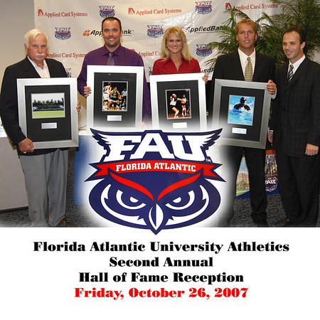 FAU Athletics Announces 2007 Hall of Fame Class
